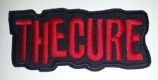 """The Cure~Embroidered Applique Patch~3 7/8"""" x 1 5/8~Iron Sew~Rock~FREE US Mail"""