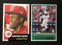 ARISTIDES AQUINO RC LOT 2020 Topps Throwback Thursday TBT Topps Living ROOKIE
