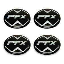 """Cap Center Emblems Pfx Laminated Golf Cart Auto Truck Wheel Hub Stickers 2 1/4"""""""