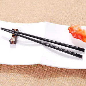 Japanese chopsticks Alloy Non-Slip Sushi Food sticks Chop Sticks Chinese Gift