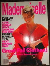 Vtg Mademoiselle 8/1990 Niki Taylor Monica Belucci Naomi Campbell Lucie Falaise