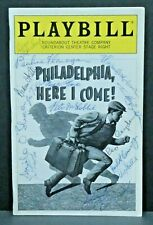 Philadelphia Here I Come Cast Hand Signed Autographed Playbill