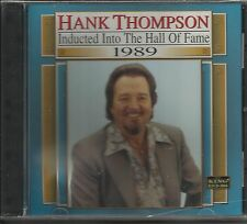 Country Music Hall of Fame 1989 by Hank Thompson,CD--BRAND NEW FREE SHIPPING USA
