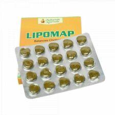 Maharishi Ayurveda Lipomap 40 Tablets Reduce Cholesterol Detoxify Free Shipping