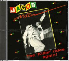 "Jacob Miller - ""The ""Killer"" Rides Again"" - 𝗠𝗜𝗡𝗧 1991 CD on US VP Records"