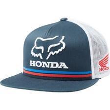 Fox NEW Men's Honda Snapback Cap - Navy BNWT