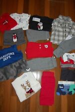 NWT BOYS 3m 3 MONTHS HUGE Fall Winter  CARTER'S THE CHILDRENS PLACE 16 PIECE LOT