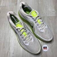 Nike Air Max 2014 Venom Green Trainers Size 9 EU 44