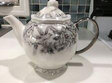 222Fifth Adelaide Silver Bird New Teapot