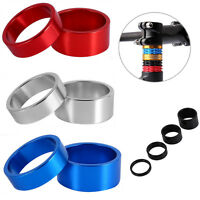 4Pcs 5-10-15-20mm MTB Bike Headset Spacers For 28.6mm Bicycle Front Stem Fork SS