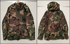 Military Hooded Parka Jacket Cold Camouflage MIL-P-44188D Barrier Wear Medium 🔥