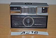 Kleinbildkamera AGFA Agfamatic 126 (A216)