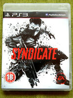 Syndicate (Sony PlayStation 3, 2012, PS3, Region Free, Game, Complete)