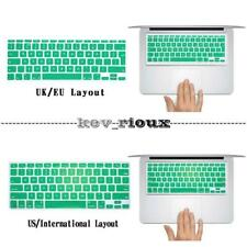 For Apple Macbook Air Pro Retina -  UK/USA Layout Silicon Rubber Keyboard Cover