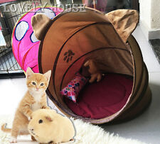 Small Animal Bed Rabbit Ferret Guinea Pig Pet Cat Puppy Bed Training Toy