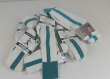 9 Pair NOS Vtg '90's Twin City Baseball 2 in 1 Stirrup Socks Teal Blue 10 -11.5""