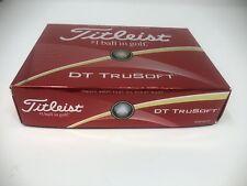 Titleist Dt Trusoft Prior Generation Golf Balls, White One Dozen. New
