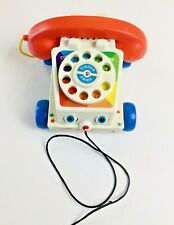 Fisher Price Chatter Rotary Telephone #952 Pull Behind Classics Phone FP 2005