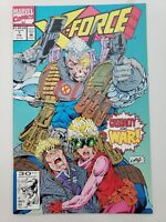 X-FORCE #7 (1992) MARVEL COMICS WARPATH! DOMINO! CABLE! ROB LIEFELD ART!