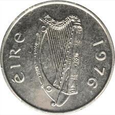 1976 Ireland 10 Pence, PCGS Specimen 67, Rare Presentation Strike