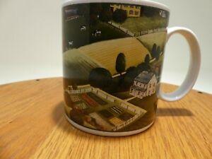 Vintage Coffee Mug David Carter Brown Pleasant Valley Sakura Country Scene