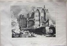 1838 BOURBON ARCHAMBAULT Sainte Chapelle Durand Tudot Allier Desrosiers Moulins