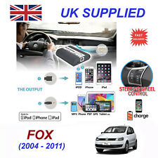 For VW Fox iPhone 5 6 7 8 SE 10 mp3 Aux Digital Audio CD Changer Module 12pin