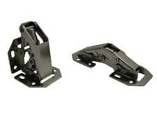 Aufschraubscharnier Aufschraubscharniere Scharnier mit Feder Easy On 77mm Mini