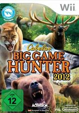 Nintendo Wii Jeu Cabela's Big Game Hunter 2012 jagdspiel article neuf
