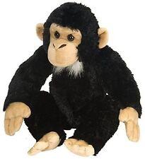 Wild Republic Cuddlekins Chimpanzee Monkey 12 inches Soft Plush Cuddly Toy