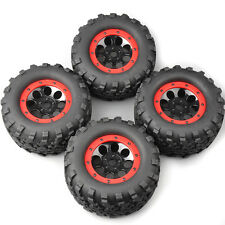 4X 160mm 1:8 Bigfoot Tires&Wheel 17 Hex For HPI HSP TRAXXAS Summit Monster Truck