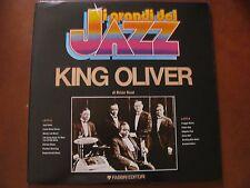 "KING OLIVER - LP -Fabbri-Collana I GRANDI DEL JAZZ""- Ex / Ex +  Tromba"