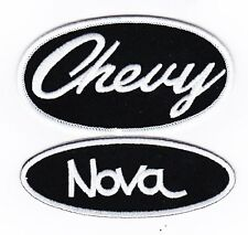 CHEVY NOVA SEW/IRON ON PATCH EMBLEM BADGE EMBROIDERED