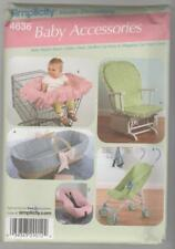 Simplicity 4636 Sewing Pattern Baby Accessories Car Seat & Shopping Cart Cover
