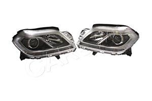 Headlight Set Left+Right Fits MERCEDES GL-Class W166 X166  MAGNETI MARELLI OEM