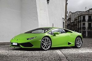OEM Lamborghini Huracan Clear Side Markers Front and Rear