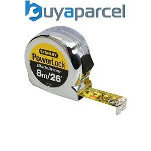 Stanley STA033526 Powerlock 8m / 26ft Blade Armor Tape Measure 0-33-526