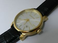 Wenger Men's urban vintage 1041.119 PVD gold plated case NEW
