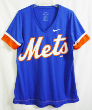 NY Mets Nike Dri-Fit Royal Blue V-Neck T-shirt size XL