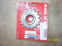 NEW Sprocket Specialists 15 Teeth Front Countershaft Sprocket 565-15