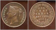 INDE  BRITANNIQUE - ONE CENT 1862 - REINE VICTORIA  ( 1 )