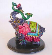 Trunk Up Elephant Statue Carrying Ru Yi