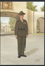 Military Postcard - Drill Instructor, US Marine Corps, San Diego  A8392