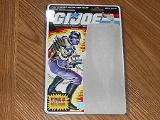 1986 Vintage GI Joe Techno-Viper Uncut File Card full cardback filecard in case