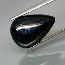 9.38 Carats Natural Midnight Blue SAPPHIRE for Jewelry Setting Pear Cabochon