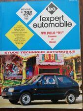 VOLKSWAGEN POLO 91 essence et diesel  REVUE TECHNIQUE RTA EXPERT 298 1992