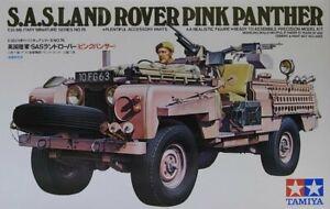 Tamiya 35076 1/35 Scale Military Model Kit SAS Land Rover Pink Panther