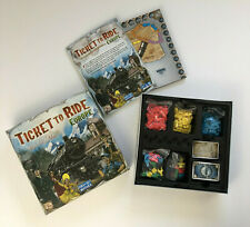 Ticket to Ride Europe Board Game Complete Excellent Condition
