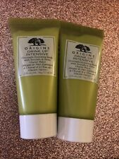 ORIGINS DRINK UP INTENSIVE OVERNIGHT MASK 2 Tubes Each .5 Oz. Total 1 Oz.