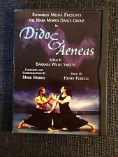 Purcell: Dido and Aeneas DVD, 2000 - Morris Sweete RARE CLASSICAL OPERA